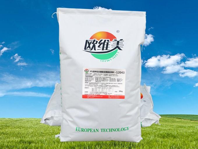 4%良种生长猪复合预混合饲料12043